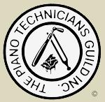 Logo of The Piano Technicians Guild, Registered Piano Technician (RPT)